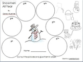 Snowmen All Year Sequence Activity