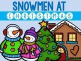 Snowmen At Christmas: Speech Therapy Book Companion
