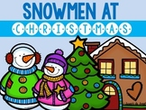 Snowmen At Christmas: Speech Therapy Book Companion