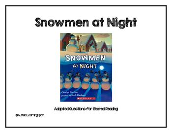 Snowmen At Night - Shared Reading