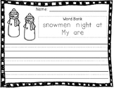 Snowmen At Night Writing