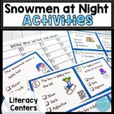 Snowmen At Night Writing Activities