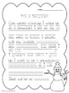 Snowmen At Work: Text-Dependent Questions and worksheet