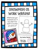 Snowmen At Work Writing