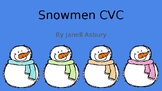 Snowmen CVC Write the room