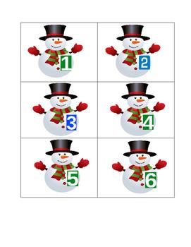 Snowmen Calendar