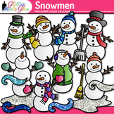 Snowmen Clip Art | Frosty the Snowman, Snow, & Wind Graphics for Winter Resource