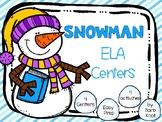 Snowman ELA Centers