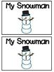 Snowman Emergent Readers