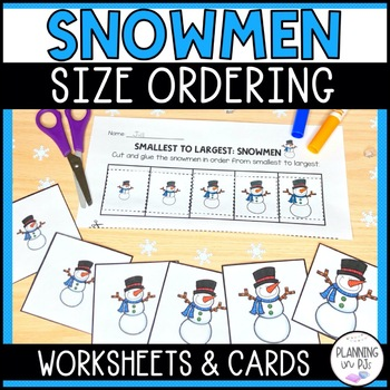 Snowmen - From Smallest to Largest