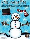 Snowmen Group Behavior Boards - Classroom Management