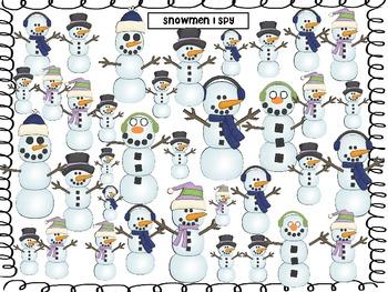 Snowmen I Spy