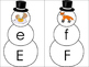 Snowmen Letter Puzzles