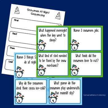 Snowman Literacy and Writing Unit