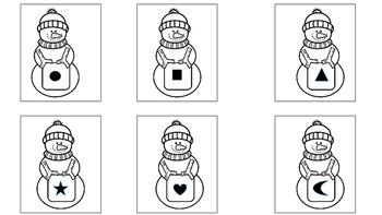 Snowmen Matching