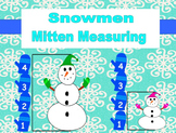 Snowman Mitten Measurement (Common Core Math)
