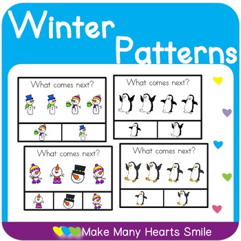 Snowmen Patterns Clip Cards    MMHS23