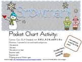 Snowmen Pocket Chart Poetry Set