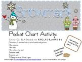 Snowmen Pocket Chart Poetry Set