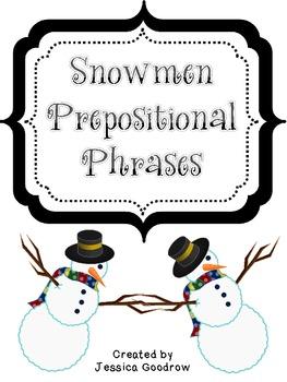 Snowmen Prepositional Phrases