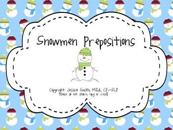 Snowmen Prepositions