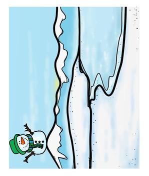Snowmen Prepositions- Where's My Snowman