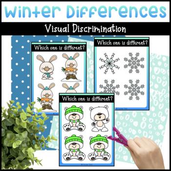 Snowmen: Same or Different Activity