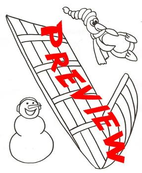 Snowmen Sledding Party