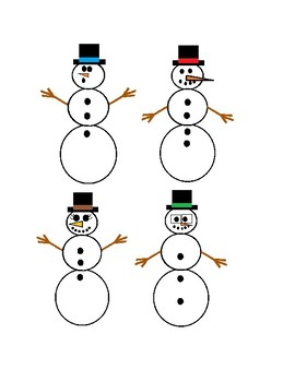 Snowmen Songs for Preschool Freebie