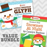 Snowmen At Night with Glyph Bundle