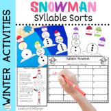 Syllable Sort Center Game