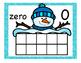Snowmen Ten Frame Posters 0-10