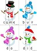 Snowmen Word Puzzles (Primer)