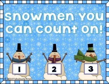 Snowmen You Can Count On! (CCSS aligned)