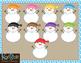 Snowmen and Mittens Clip-Art