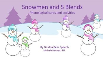 Snowmen and S Blends