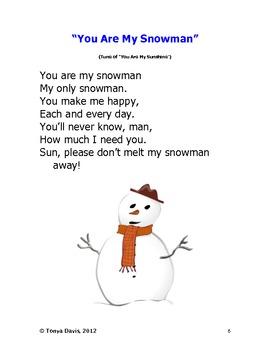 Snowmen and Santa Songs for Holiday Fun
