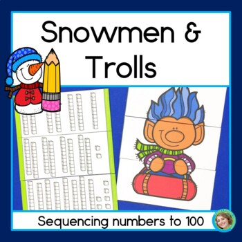 Snowmen and Trolls sequencing numbers to 100