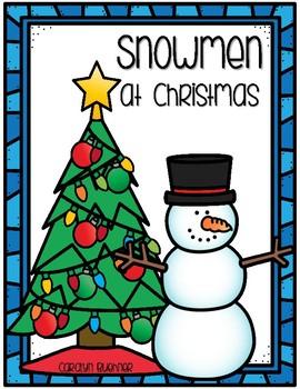 Snowmen At Christmas.Snowmen At Christmas