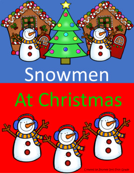 Snowmen At Christmas.Snowmen At Christmas Guided Reading Lesson Plan