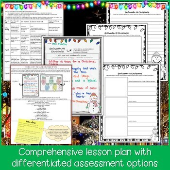 Snowmen at Christmas Lesson Plan and Book Companion