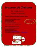 Snowmen at Christmas by C. Buehner Math and LIteracy Activities
