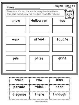 Snowmen at Halloween Literature Unit