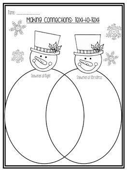 Snowmen at Night {A Literacy Unit for all Books}