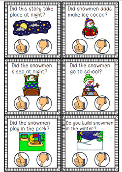 Snowmen at Night Book Companion Pack