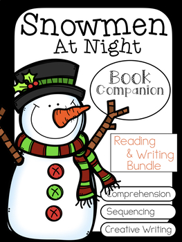 Snowmen at Night Book Companion and Creative Writing