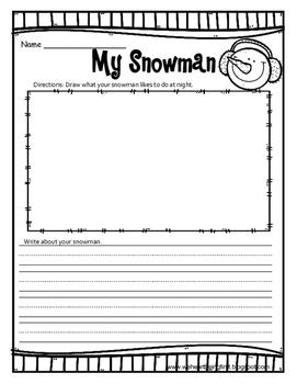 Snowmen at Night Book Extension 1-2
