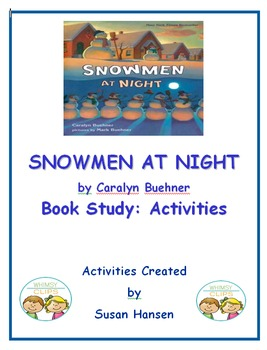 Snowmen at Night Book Study