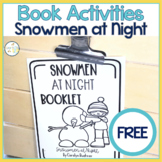 Snowmen at Night Booklet FREEBIE for Language Expansion