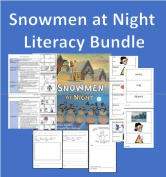 Snowmen at Night Literacy Bundle